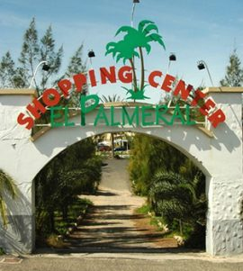 Shopping Center El Palmeral Zugangsweg 1