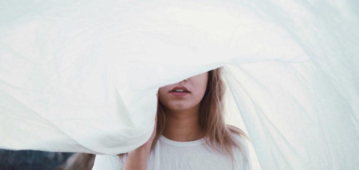 girl & white wind