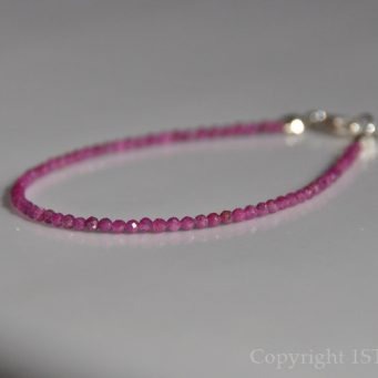 Ruby Tuesday Ladies delicate faceted Bracelet custom-made by 1STone Art & Design Custom Jewelry Fuerteventura