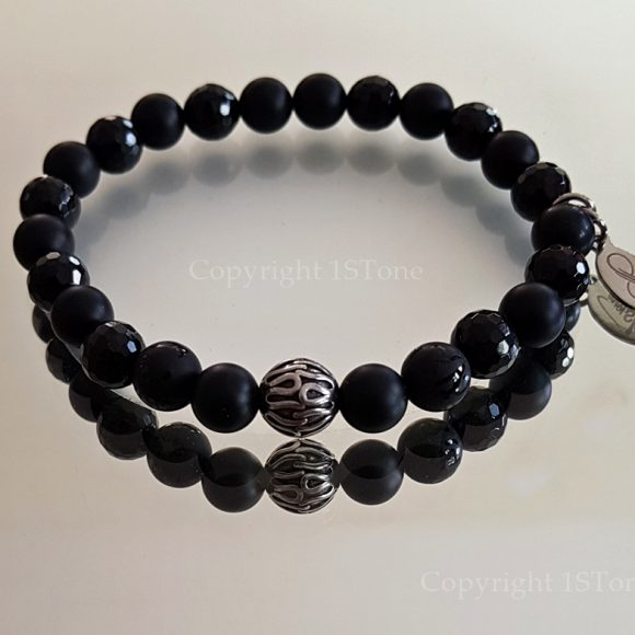 Lhasas Secret Premium Comfort custom-made Gemstone Bracelet for Her & Him by 1STone Art & Design Custom Jewelry Fuerteventura_