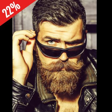My1STone Art & Design Custom Jewelry Beard Man Sunglasses 22nd Anniversary Publication 22 %-900px