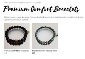 My1STone Tag Premium Comfort Bracelets by 1STone Art & Design Custom Jewelry Fuerteventura